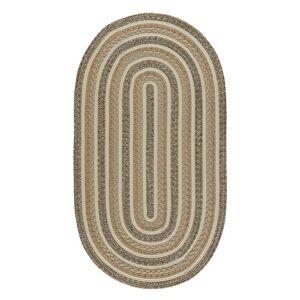 "Overstock Capel Rugs Platform Casual Handmade Braided Rugs (Onyx 2'3"" x 9')"