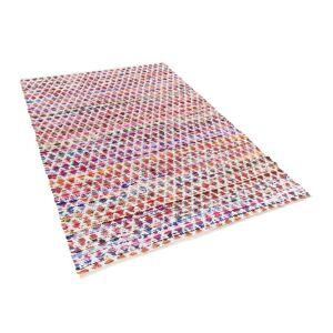 Overstock Rug - Short Pile - Cotton - 140x200 cm - Multi-colour - ARAKLI