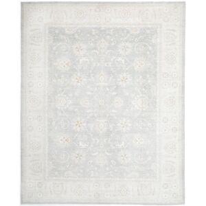 Overstock Pasargad 21st Century Tabriz Haj Jalili Hand-knotted Area Rug - 8′3 × 11′2 (83  112 - Grey)