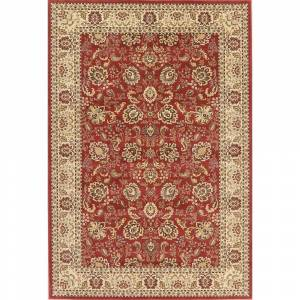 Overstock Floral Oushak Turkish Red Oriental Area Rug - 6' 7'' X 9' 7'' (6' 7'' X 9' 7'' - Red)