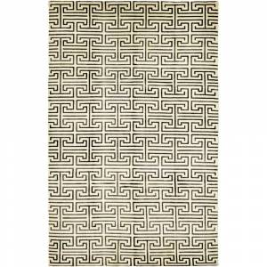 Overstock Contemporary Modern One-of-a-Kind Hand-Knotted Area Rug - 6 x 9 (6 x 9 - Multi)
