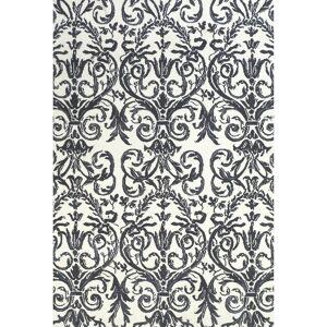 Grand Bazaar Cromwell Area Rug (Slate/White 8' X 11')