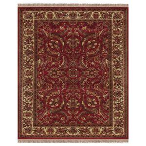 """Grand Bazaar Edmonton Area Rug (Red/Ivory 5'-6"""" x 8'-6"""")"""