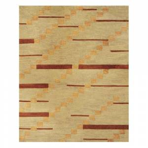 Grand Bazaar Tufted 100-percent Wool Pile Tangent Rug in Smoke - 5' x 8' - 5' x 8' (TANGENT, SMOKE, 5' x 8')
