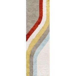 "Novogratz by Momeni Retro 70s Hand-tufted Polyester Area Rug (2'3"" x 7'6"" Runner - Multi)"