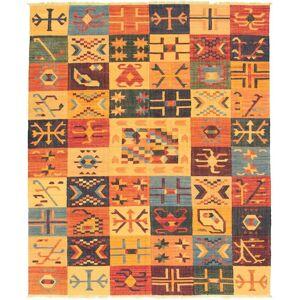 "Ecarpetgallery Flat-weave Sundance Multi Color Wool Kilim (Multi/Multi Color - 8'3"" x 10'2""/8'3 x 10'2)"