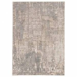 """Silver Orchid Lane Abstract Gray/ Taupe Area Rug (7'10"""" x 10'6"""")"""