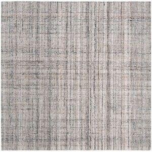 Safavieh Handmade Abstract Nettie Modern Viscose Rug (8' x 8' Square - Camel/Black)