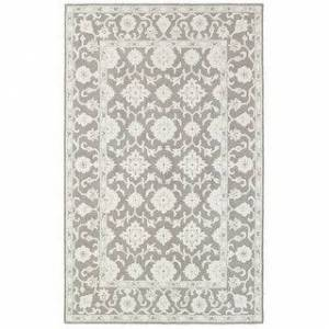 Style Haven Maison Tone-on-Tone Traditional Loop Pile Hand-made Wool Area Rug (8' x 10' - Grey/Stone)