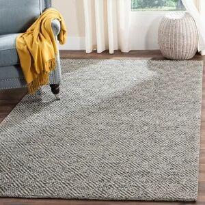 Safavieh Natura Rimah Handmade Wool Rug (6' x 9' - Camel/Grey)