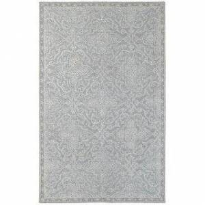 Style Haven Maison Floral and Vine Persian Hand-made Loop Pile Wool Area Rug (8' x 10' - Grey/Blue)