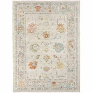 "Amer Rugs Bohdanna Bordered Indoor/Outdoor Neutral Area Rug (5'1""x7'6"" - Beige)"