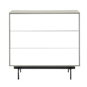 Modern Life Alexander Matte Light Grey Veneer 3-drawer Modular Buffet (Matte Light Grey)