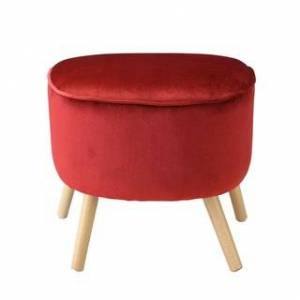 Acme Furniture Aisling Ottoman (Red)