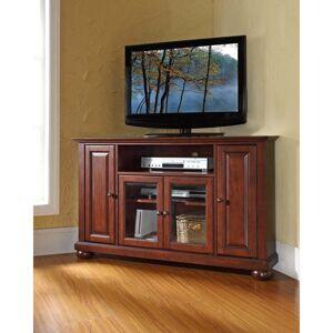 "Crosley Furniture Alexandria 48"" Corner TV Stand in Vintage Mahogany (Alexandria 48"" Corner TV Stand)"