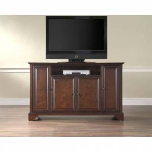 """Crosley Furniture Layfayette Brown Wood 60-inch TV Stand (Cambridge 60"""" TV Stand)"""