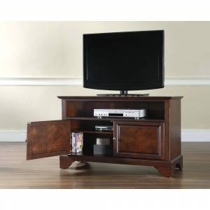 "Crosley Furniture Lafayette 42"" TV Stand in Vintage Mahogany Finish (Lafayette 42"" TV Stand)"