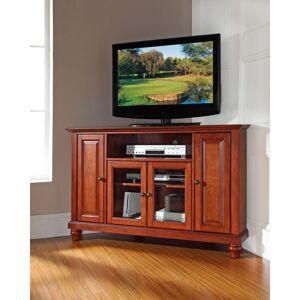 "Crosley Furniture Cambridge Cherry-finished Wood 48-inch Corner TV Stand (Cambridge 48"" Corner TV Stand)"