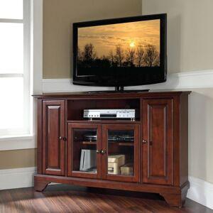 "Crosley Furniture Lafayette Vintage Mahogany Finish Wood 48-inch Corner TV Stand (Lafayette 48"" Corner TV Stand)"