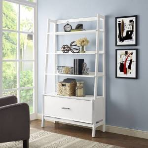 Crosley Furniture Landon Large Etagere in White (White)