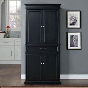 "Crosley Furniture Parsons Pantry in Black - 33 ""W x 19 ""D 72 ""H (Black)"