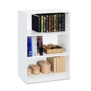 Porch & Den Astor Adjustable Shelf Bookcase (White - 3)