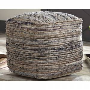 Signature Design by Ashley Absalom Pouf (Natural)