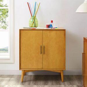 "Crosley Furniture Landon Bar Cabinet In Acorn - 31.75""W x 19""d x 36""H - 31.75""W x 19""d x 36""H"