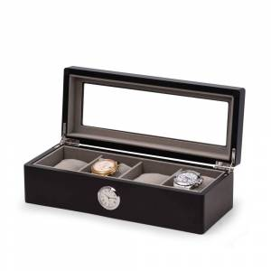 Overstock All in Time Four Watch Box