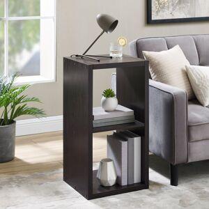 Overstock Alaric 2 Cubby Storage Cabinet (Espresso)