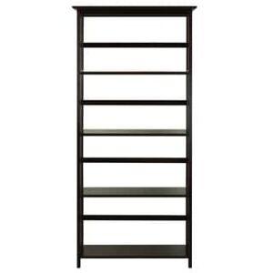 Yu Shan Co USA Ltd Mission Style 5-Shelf Bookcase (Espresso)