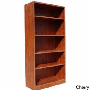 Boss 5- Shelf Bookcase (Cherry)