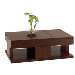 Progressive Le Mans Mozambique Double Lift-top Coffee Table (Veneer)