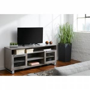 Rye Studio Tirol Modern TV Stand (Grey)