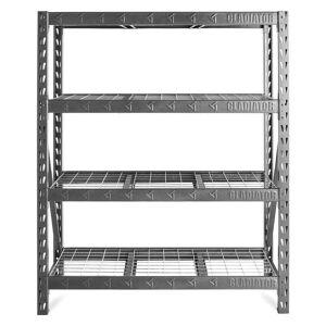 Gladiator GarageWorks 60-inch Wide Heavy Duty Rack with 4 Shelves