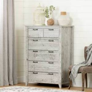 South Shore Furniture South Shore Lionel 6-drawer lingerie chest (Seaside Pine)