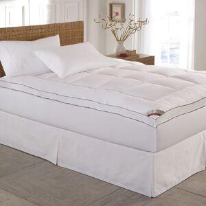 Kathy Ireland HOME 233 Thread Count Down Alternative Fiber Bed Mattress Pad Topper (California King)