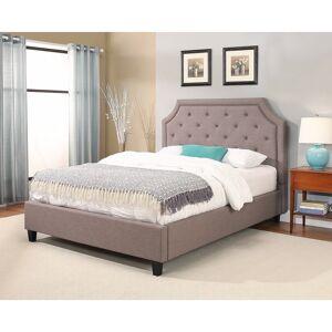 Abbyson Sierra Studded Upholstered Platform Bed (Queen)