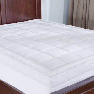 St. James Home Premium Goose Down Top Featherbed - White (King)