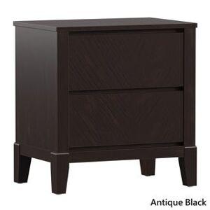 Copper Grove Vantaa Antique 2-drawer Nightstand (Black)