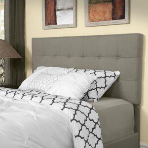 Crosley Furniture Andover Full/Queen Headboard in Shadow Gray Linen