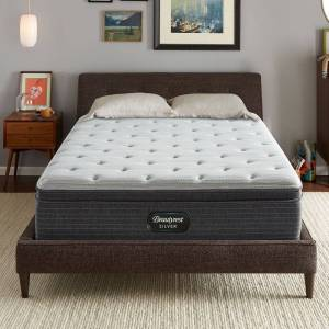 Beautyrest Silver BRS900 13-inch Medium Euro Top Mattress (Twin)