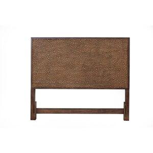 Alpine Furniture Brown Pearl Platform Bed, Brown Bronze (King)