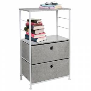 Overstock Sorbus Nightstand 2-Drawer Shelf Storage - Bedside Furniture & Accent End Table Chest