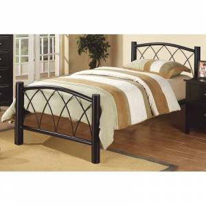 Overstock Metal Youth Bed (Twin)