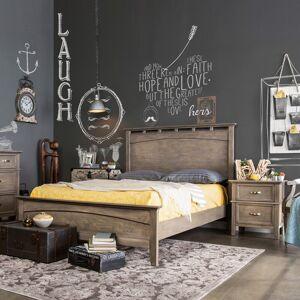 Furniture of America Reas Transitional Oak 2-piece Bedroom Set (Eastern King)
