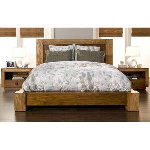 Alpine Furniture Jimbaran Bay Platform Bed, Tobacco (King)