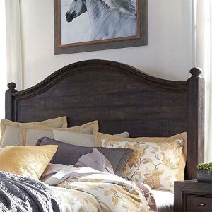 Liberty Furniture Catawba Hills Peppercorn Queen Poster Headboard (Queen)