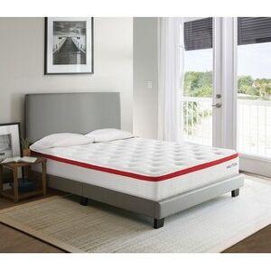 "Nautica Home 10"" Harmony Medium Firm Hybrid Mattress (Full)"