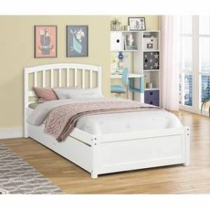 Overstock Twin Bed With 2 Drawers (Twin)